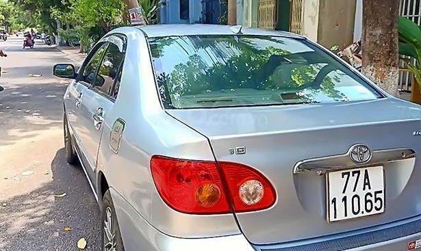 Xe Toyota Corolla altis 2002, màu bạc xe gia đình, giá 250tr
