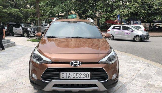 Bán ô tô Hyundai i20 Active đời 2015, màu nâu, nhập khẩu Ấn Độ