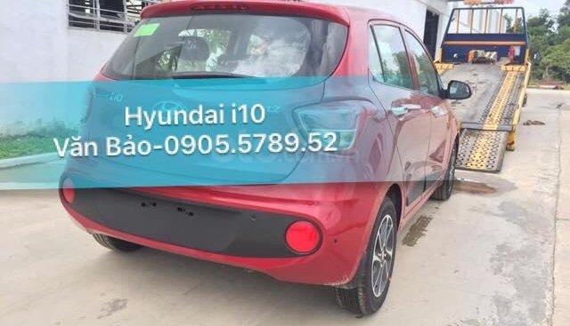 Hyundai Grand i10 HB đỏ có sẵn tại Hyundai Sông Hàn, LH Văn Bảo để xem xe 0905.5789.52