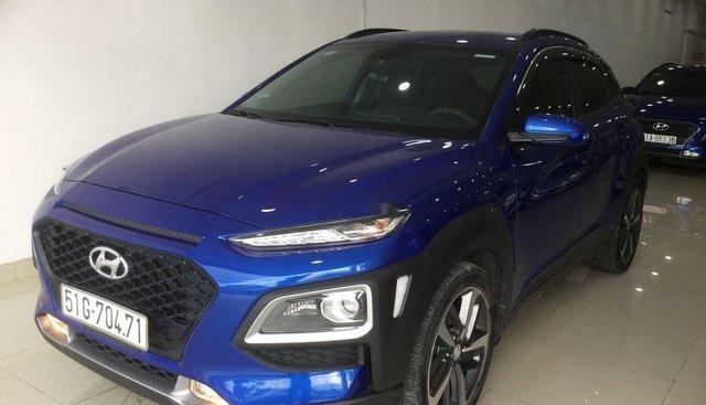 Cần bán Hyundai Kona sản xuất năm 2018, màu xanh lam, 620 triệu