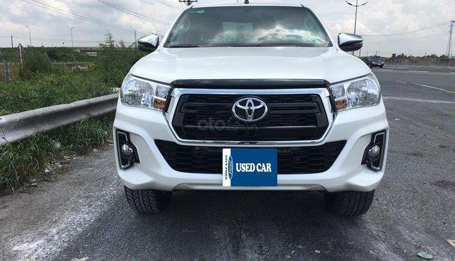 Bán Toyota Hilux 2.4AT đã qua sử dụng đăng ký Tháng 4. 2019 trả góp lãi xuất ưu đãi