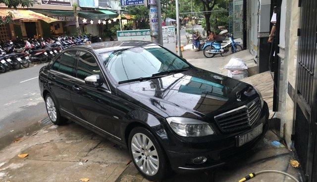 Cần bán Mercedes C200K đời 2007, màu đen, nhập khẩu nguyên chiếc, giá tốt