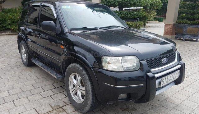 Bán xe Ford Escape năm 2003, màu đen, nhập khẩu nguyên chiếc, giá tốt