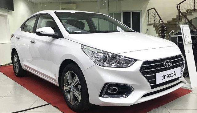 Bán Hyundai Accent MT năm sản xuất 2019, màu trắng