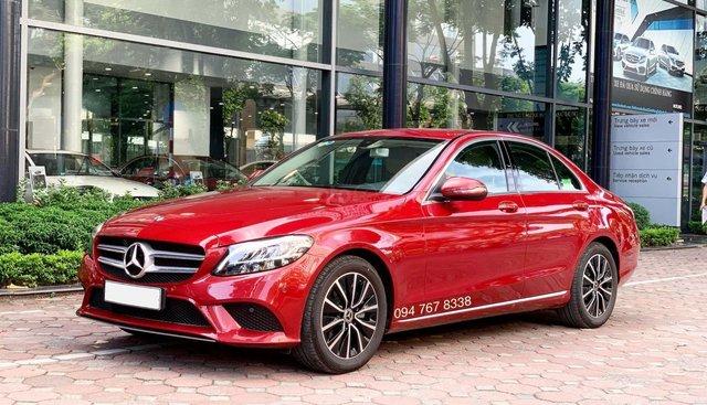 Cần bán gấp Mercedes C200 2019, màu đỏ, chạy lướt giá cực tốt