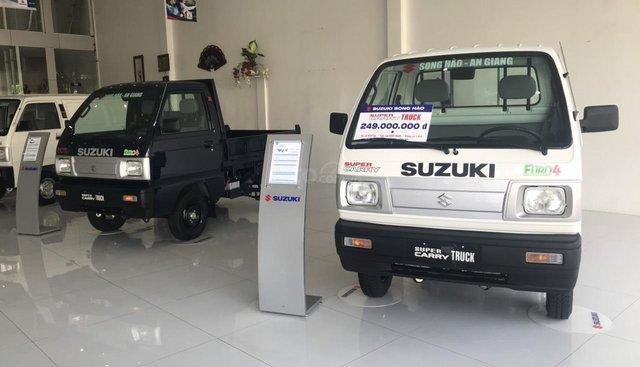 Xe tải nhẹ Suzuki Super Carry Truck cực kì bền bỉ - nhận xe ngay từ 60 triệu đồng, tặng 100% phí trước bạ