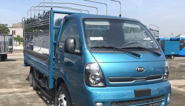 Thaco Bình Dương bán xe Thaco Kia Frontier K250 mui bạt 2018, mới 100%, giá 369tr, trả góp 75%, liên hệ 0914 15 9099