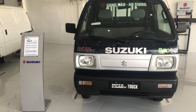 Bán xe tải ben Suzuki Super Carry Truck ben cực kì bền bỉ - nhận xe ngay từ 68 triệu đồng, tặng 100% phí trước bạ