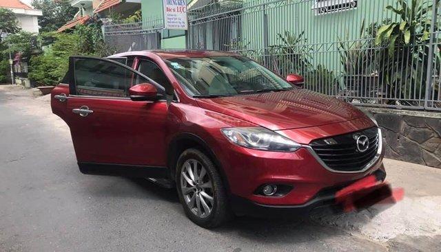 Cần bán xe CX9 2015, số tự động, màu đỏ, nhập Nhật