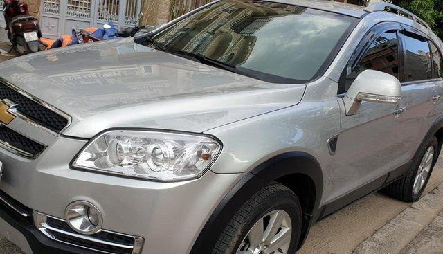 Bán Chevrolet Captiva Maxx LTZ 2.4 số tự động model 2011 sx 2010 màu bạc tuyệt đẹp mới 80%