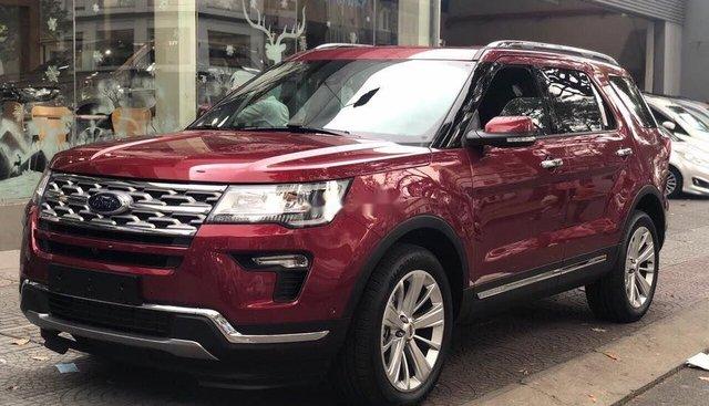 Bán Ford Explorer năm 2019, màu đỏ, xe nhập