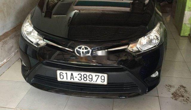 Cần bán lại xe Toyota Vios năm sản xuất 2017, màu đen, xe nhập xe gia đình, giá chỉ 438 triệu
