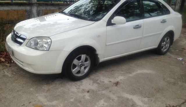 Cần bán Daewoo Lacetti EX sản xuất năm 2009, màu trắng, giá 215tr