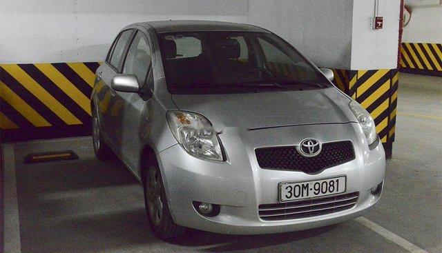 Bán xe Toyota Yaris sản xuất năm 2008, màu bạc, xe nhập, 340tr