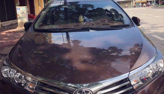 Bán Toyota Corolla Altis đời 2017, màu nâu