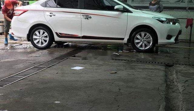 Xe Toyota Vios AT sản xuất năm 2018, màu trắng