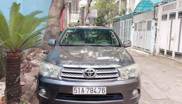 Chính chủ bán Toyota Fortuner đời 2009, màu xám