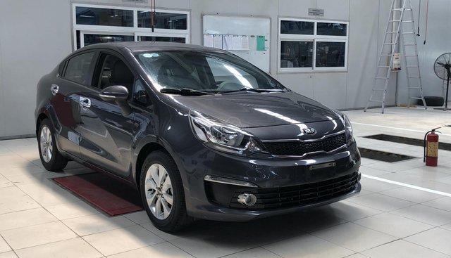 Bán ô tô Kia Rio số tự động, sedam sản xuất 2015, màu xám (ghi), xe nhập