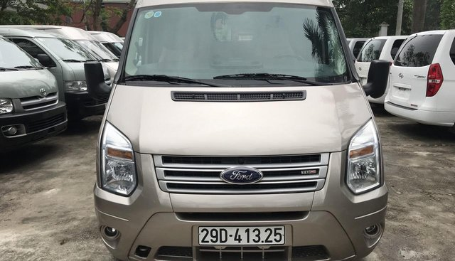 Bán xe tải Van 3 chỗ Ford Transit, số sàn, máy dầu, đời 2014, biển HN