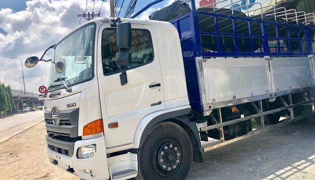Bán xe Hino FG đời 2019 8 tấn mui bạt, màu trắng