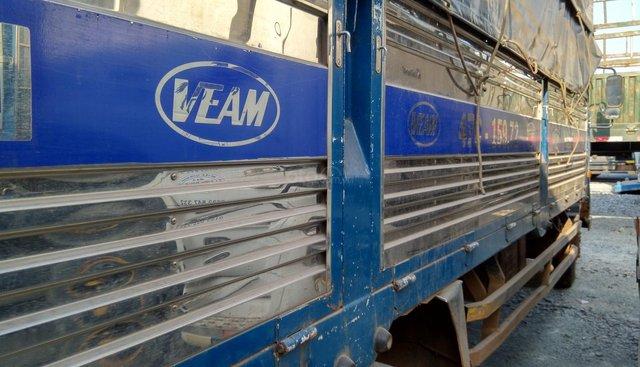 Ngân hàng thanh lý bán xe tải Veam VT735MB tải 7,4 tấn năm 2016, màu xanh lam chỉnh chủ giá chỉ 239 triệu đồng