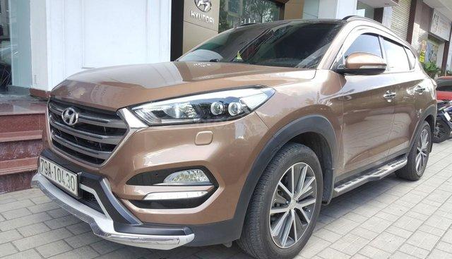 Bán Hyundai Tucson 2.0AT màu nâu titan, nhập Hàn Quốc 2015, bản đặc biệt xe đẹp