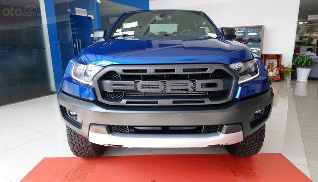 Bán Ford Ranger Raptor đời 2019, màu xanh lam, nhập khẩu
