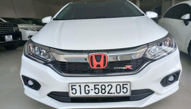 Bán Honda City 1.5CVT sản xuất 2018, màu trắng biển Tp HCM giá 540 triệu
