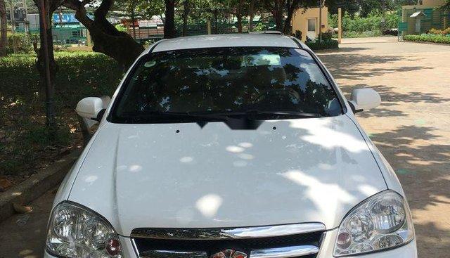 Bán ô tô Daewoo Lacetti đời 2007, màu trắng
