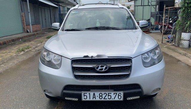Xe Hyundai Santa Fe đời 2008, màu bạc, nhập khẩu Hàn Quốc số tự động