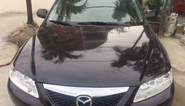 Bán Mazda 6 đời 2004, màu đen xe gia đình, 217 triệu
