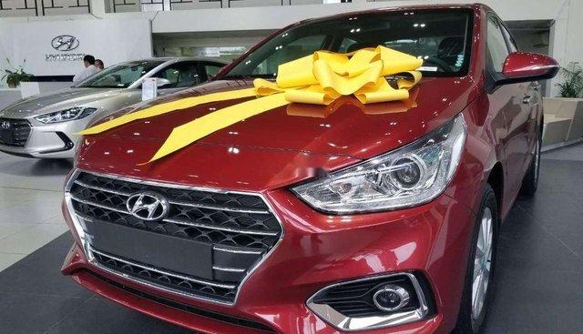 Bán Hyundai Accent đời 2019, màu đỏ, 425 triệu