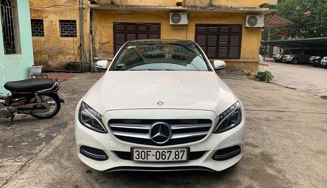 Bán ô tô Mercedes C200 năm sản xuất 2015, màu trắng