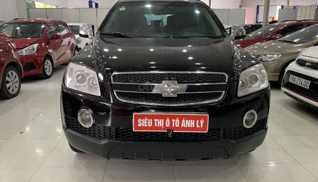 Bán Chevrolet Captiva 2.4MT đời 2007, màu đen
