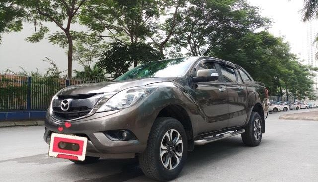 Ô Tô Thủ Đô bán xe Mazda BT50 2.2AT 2016, màu nâu 519 triệu
