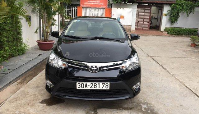 Tôi cần bán chiếc Toyota vios E 2014, xố sàn,màu đen .chính chủ gia đình tôi đang sử dụng lh0984386598