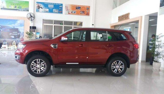 Bán Ford Everest sản xuất 2019, màu đỏ, xe nhập