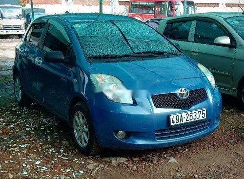 Bán Toyota Yaris 2007, màu xanh lam, xe nhập