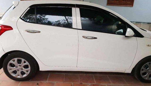 Cần bán lại xe Hyundai Grand i10 đời 2014, màu trắng, nhập khẩu nguyên chiếc, giá tốt