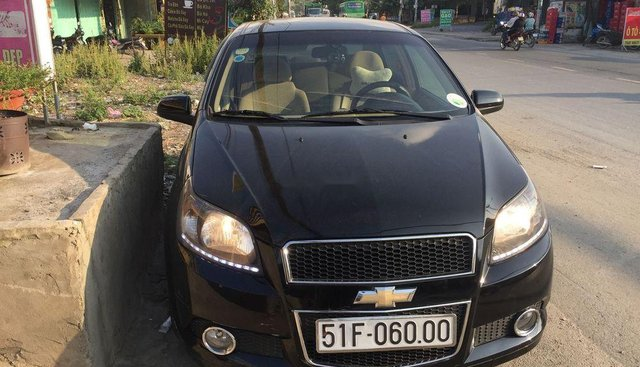 Bán xe Chevrolet Aveo đời 2015, màu đen, số tự động