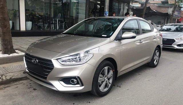 Bán ô tô Hyundai Accent năm sản xuất 2019, màu vàng