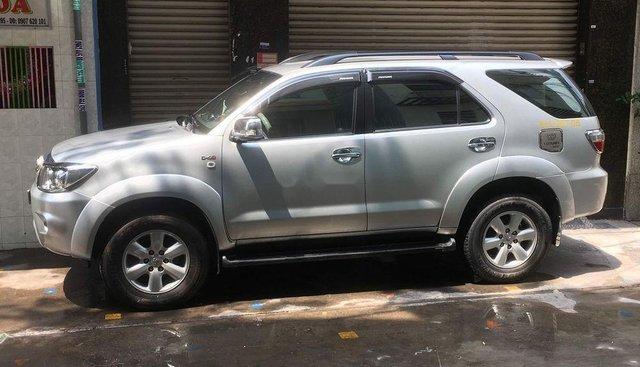 Cần bán Toyota Fortuner năm sản xuất 2012, màu bạc, giá 670tr