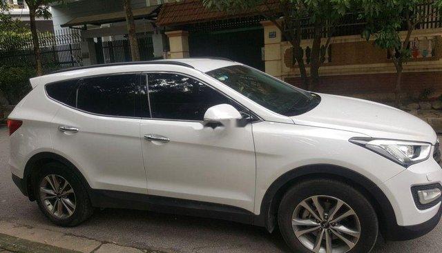 Bán Hyundai Santa Fe đời 2016, màu trắng