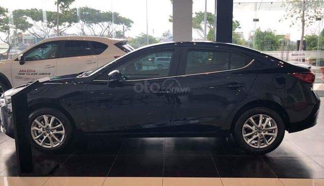 Bán xe Mazda 3 xanh đen 2019 - Tặng gói bảo dưỡng miễn phí - Hỗ trợ trả góp 80%