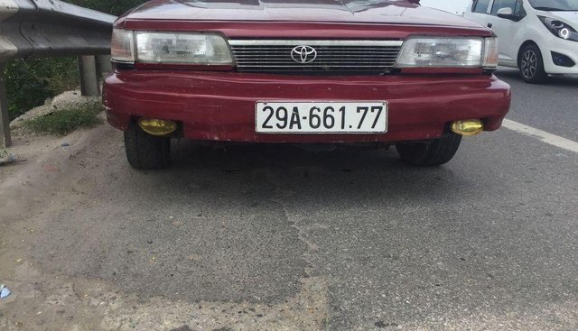Bán Toyota Camry đời 1993, màu đỏ, nhập khẩu