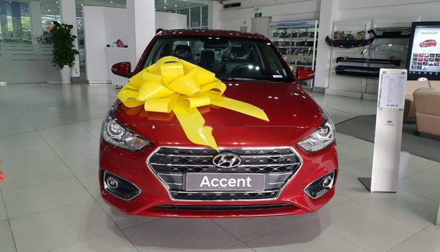 Bán Hyundai Accent sản xuất năm 2019, màu đỏ, 428tr