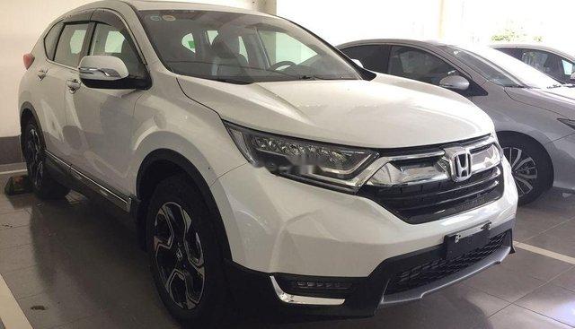 Bán Honda CR V 1.5 L CVT đời 2019, màu trắng, nhập khẩu