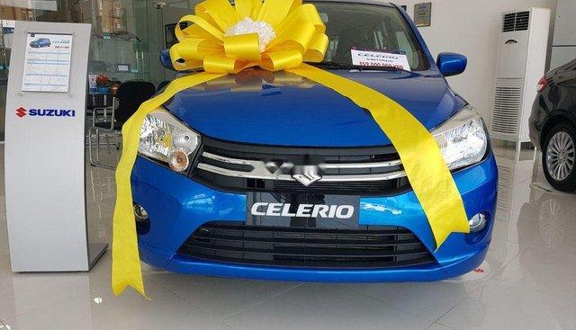 Cần bán Suzuki Celerio năm sản xuất 2019, màu xanh lam, xe nhập
