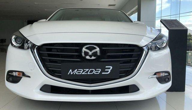 Bán Mazda 3 2019, màu trắng, xe nhập, giá tốt