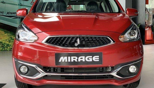 Bán ô tô Mitsubishi Mirage 2019, màu đỏ, nhập khẩu